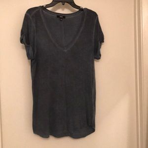 Paige T-shirt in dark denim blue size large